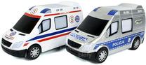 Służby ratunkowe POLICJA, AMBULANS