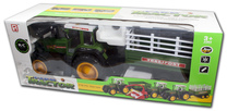 Wielki traktor na radio + przyczepa
