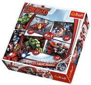 Puzzle 4w1 Avangers