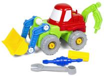 Traktor, koparka do skręcania