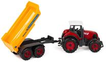 Traktor metalowy z przyczepą