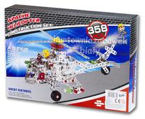Zestaw konstruktor 358el. Helikopter