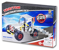 Zestaw konstruktor 226el. auto Jeep