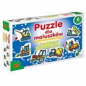 Puzzle dla maluszków MASZYNY BUDOWLANE