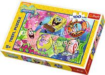 Mieszkańcy Bikini Dolnego - puzzle 100 elementów