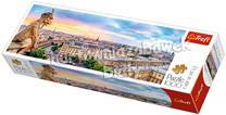 Puzzle 1000el. panorama Widok z katedry Notre-Dame